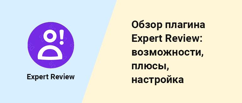 Обзор премиум Expert Review - плагина WP